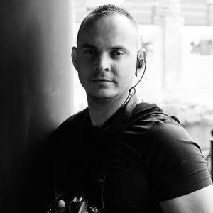 Michal Fic, pražský fotograf a kameraman v jedné osobě.