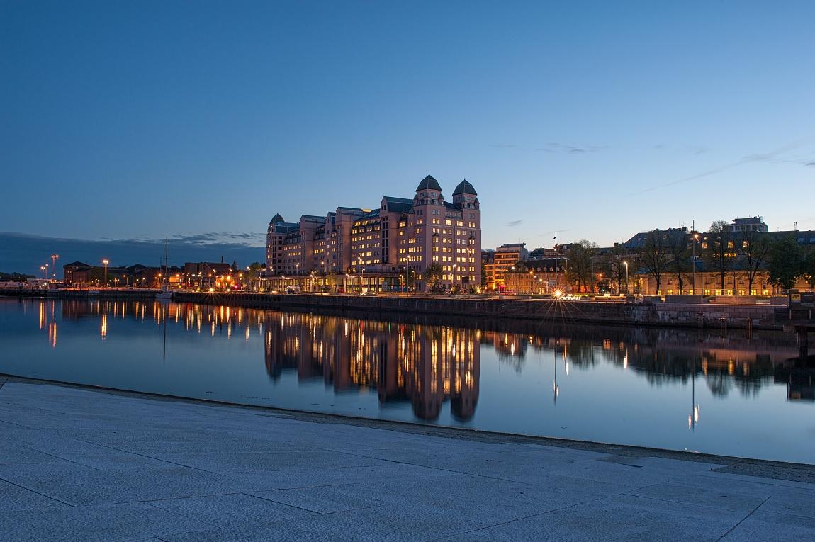 Podvečerní Oslo