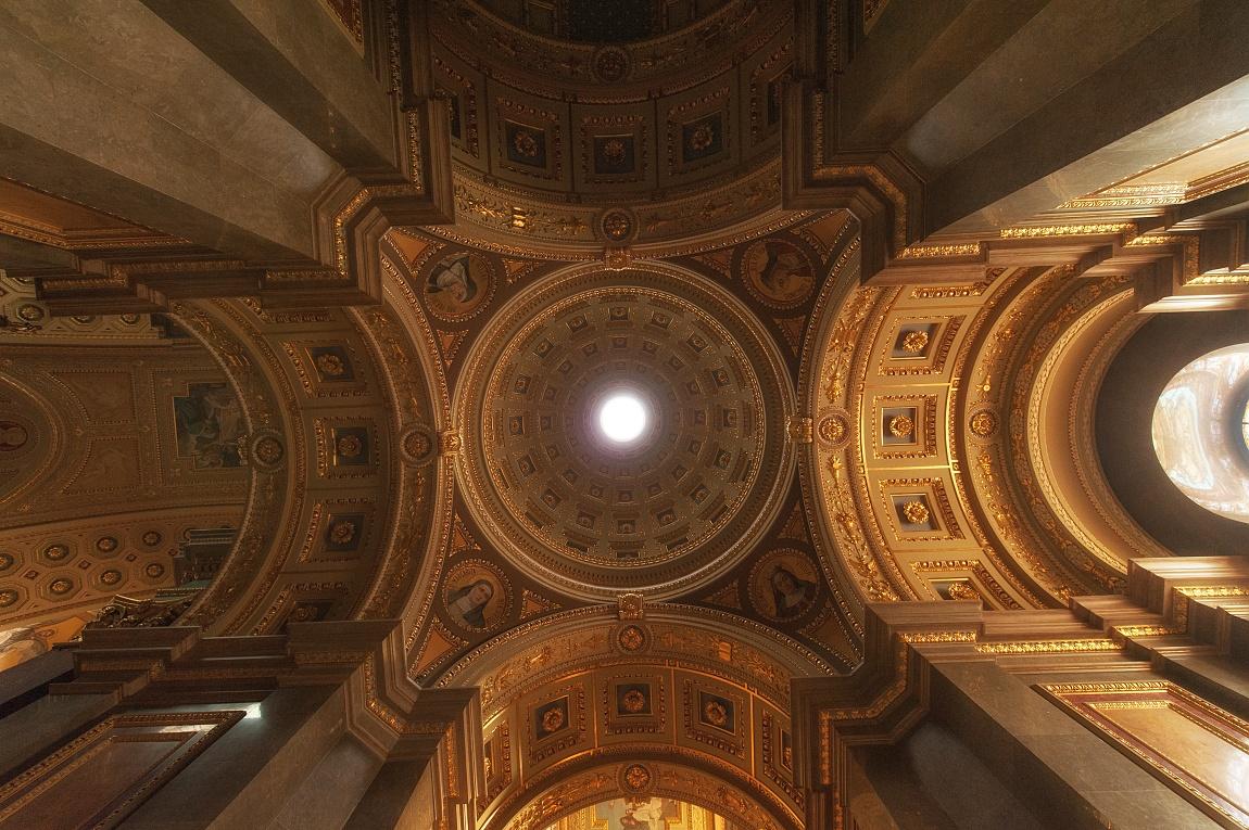 Strop Baziliky svatého Štěpána