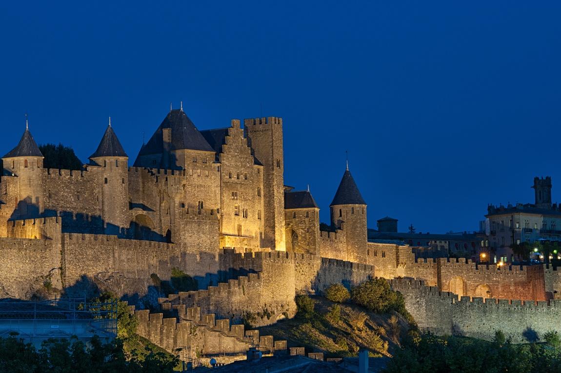 Hrad Carcassone - Francie