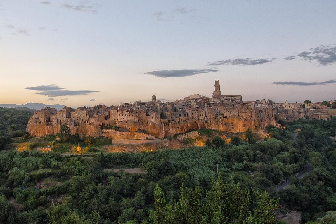 Toskánsko Itálie