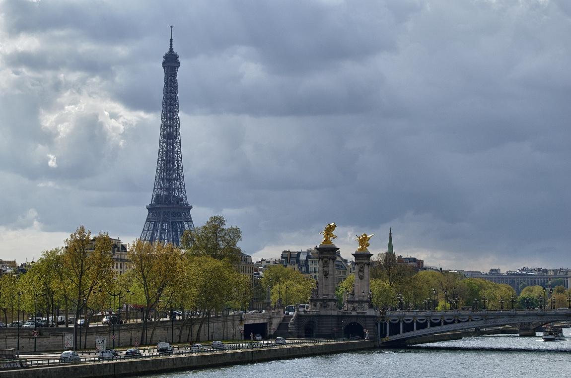 Francie - Paříž Eifelova věž