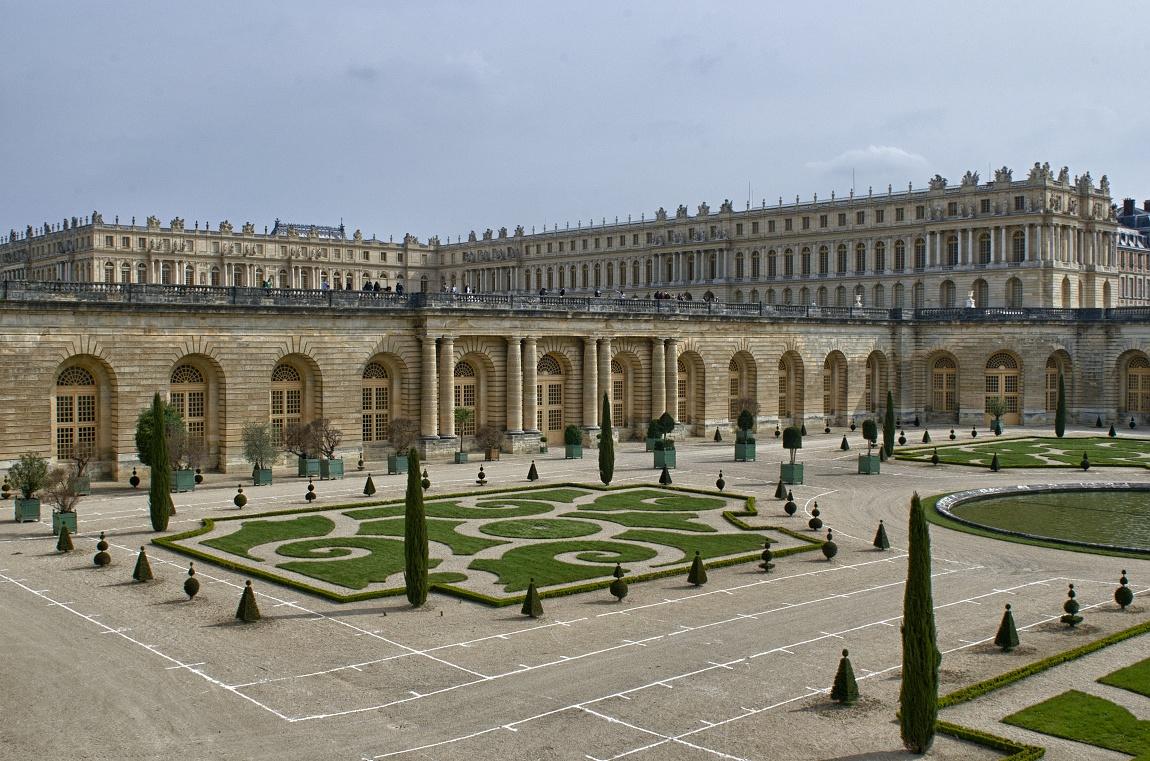 Francie zámek Versai