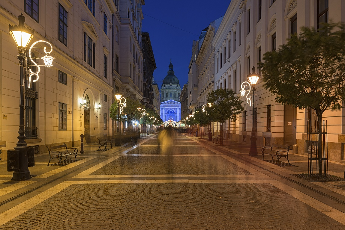 Budapešť Maďarsko - adventní čas
