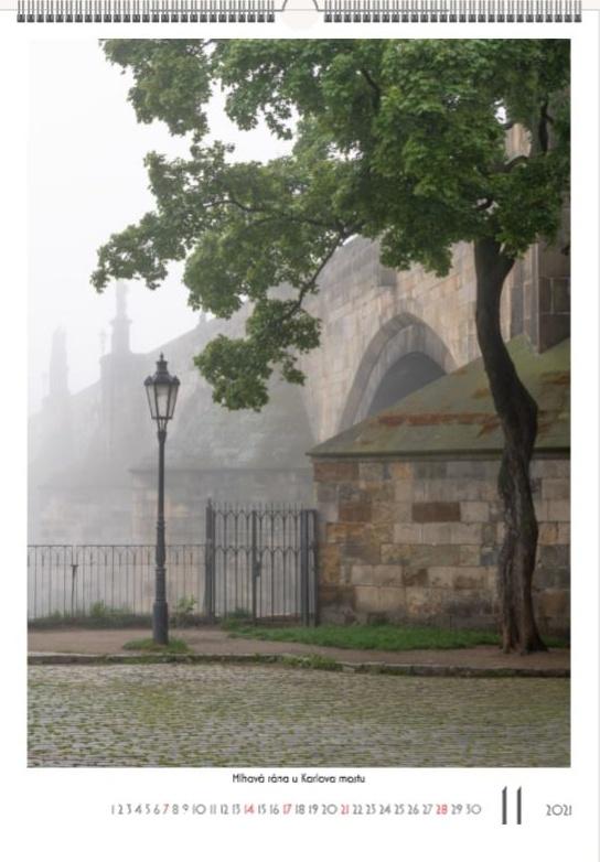 Karlův most v mlze