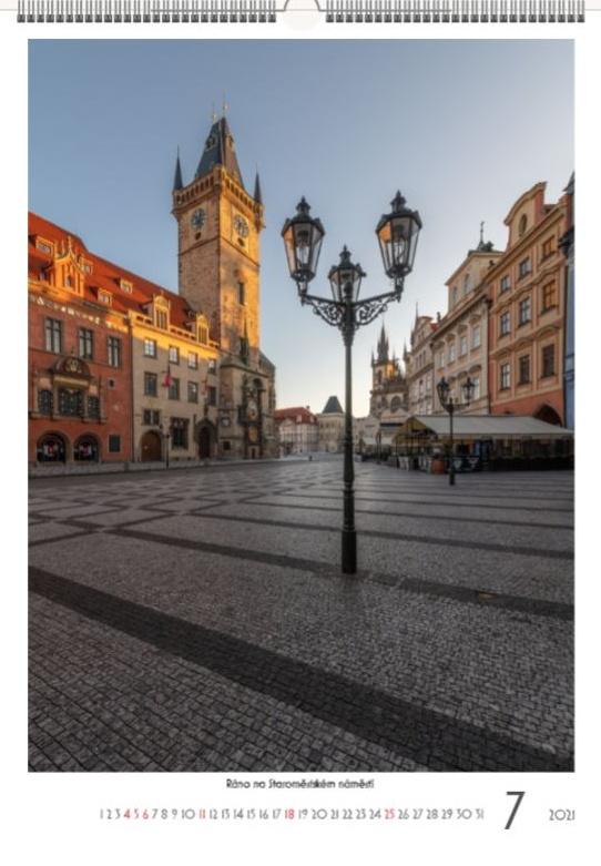 Poklidná ranní Praha